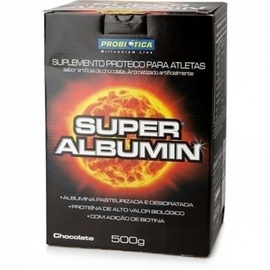 Super Albumina Chcocolate 500g
