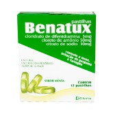 Benatux 5 + 50 + 10 Mg 12 Past Framboesa