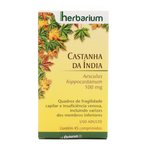 Castanha Da India Herbarium 100 Mg C/45 Cpr