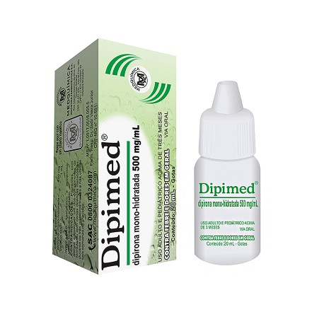 Dipimed 500 Mg Gotas 20 Ml