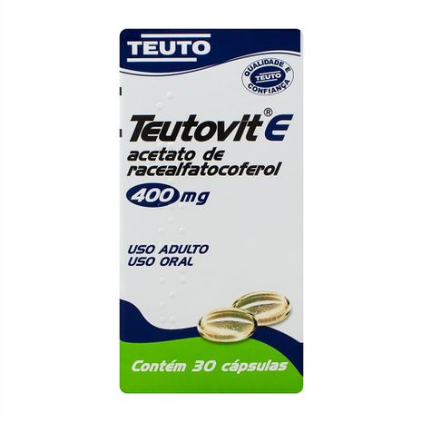 Teutovit-E 400 Mg 30 Caps