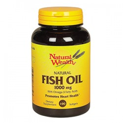 Fish Oil 1000mg (Óleo De Peixe) 100 Softgels