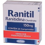 Ranitil 150 Mg 20 Cprs