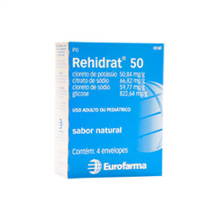 Rehidrat 50 4 Env X 7,337g Sb Natural