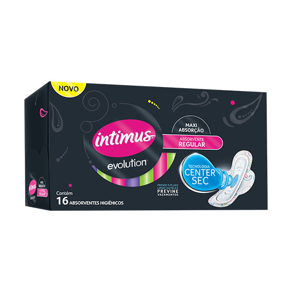 Absorvente Intimus Evolution Cob Duo C/A 16un