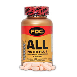 All Nutri Plus - Fdc - 140 Cápsulas