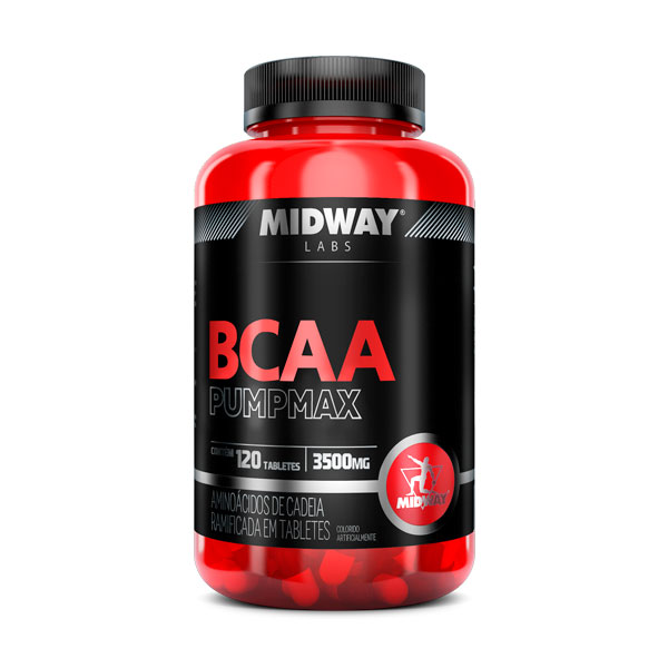 Bcaa Pumpmax 120 Caps