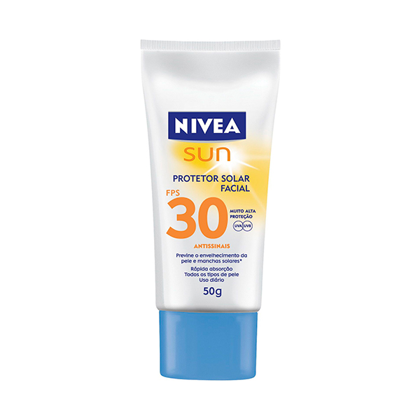 Bronzeador Nivea Fps-30 Facial Light F 50g