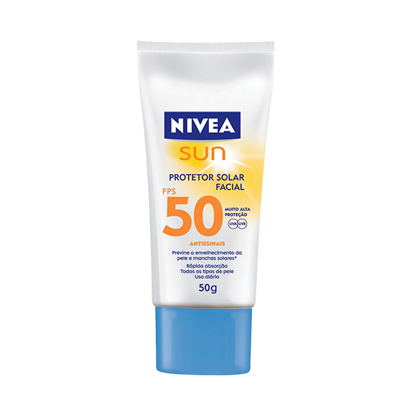 Bronzeador Nivea Fps-50 Fac Light F 50g