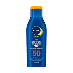 Bronzeador Nivea Fps-50 Light Feeling 200ml N