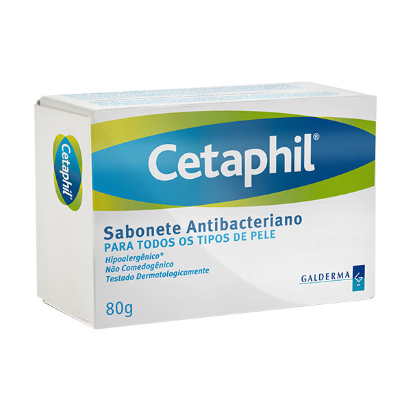 Cetaphil Sabonete Anti Bacteriano 80 G