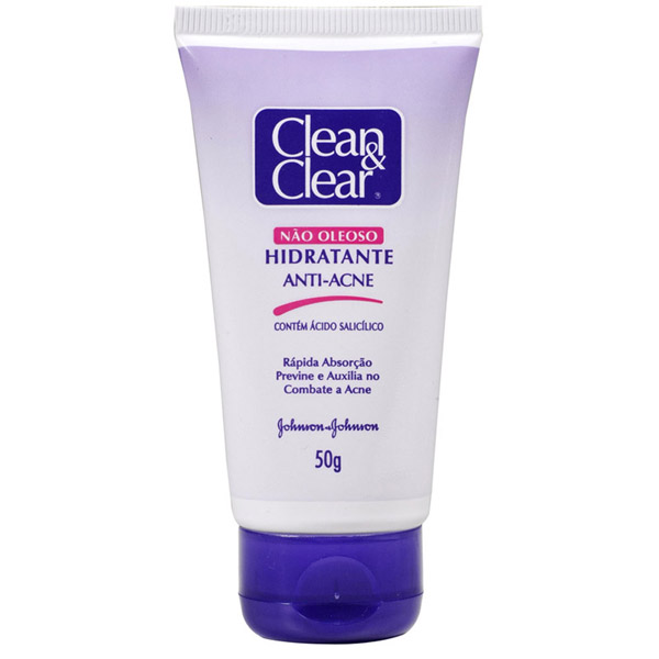 Clean Clear Hidratante Facial Anti Acne 50g