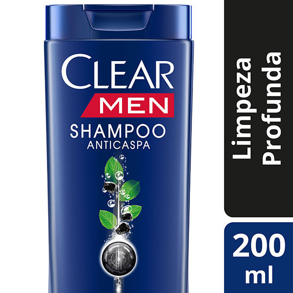 Clear Shampoo Anti Caspa Limpeza Profunda 200ml