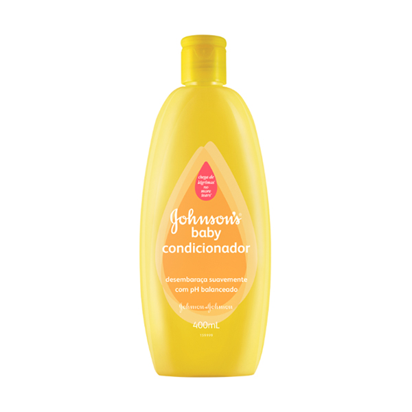 Condicionador Johnson & Johnson Baby 400ml