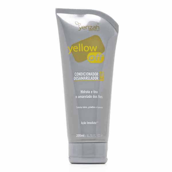 Condicionador Yenzah Yellow Off Desamar 200ml