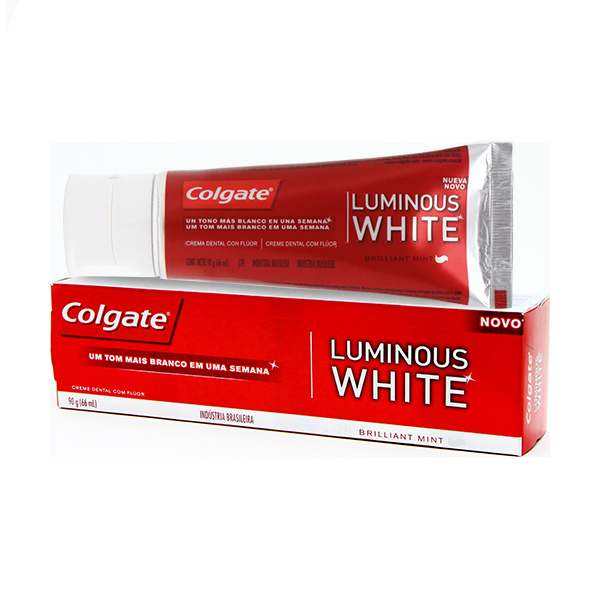 Creme Dental Colgate Luminous White 90g