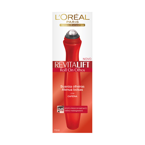 Creme Loreal Revitalift Roll-On Olhos