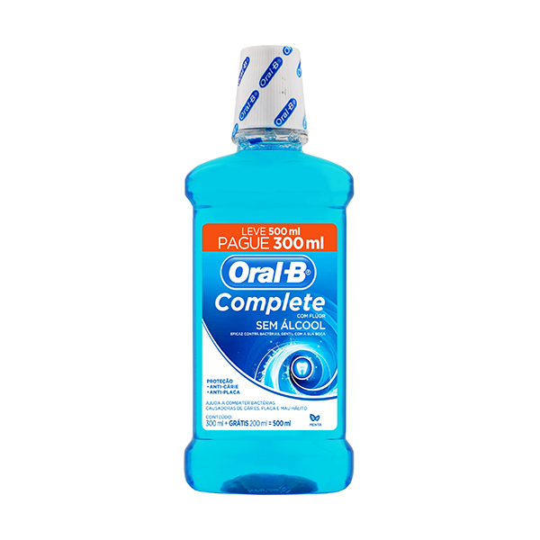 Enxaguante Oral-B Menta 300ml