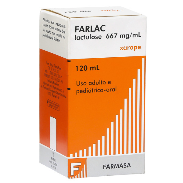 Farlac 667 Mg Xarope 120 Ml