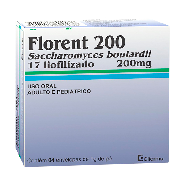 Florent 200 Mg 4 Saches X 1 G