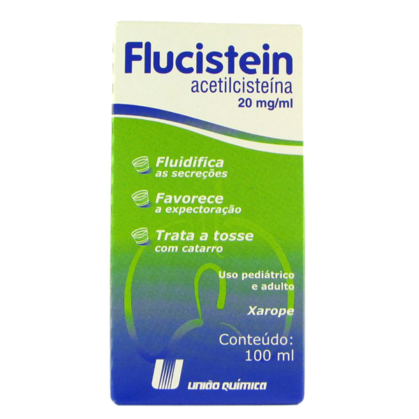 Flucistein 20 Mg Xarope 100 Ml
