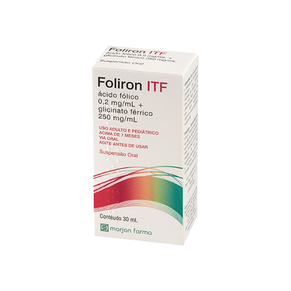 Foliron Itf Susp Oral 30 Ml X 1