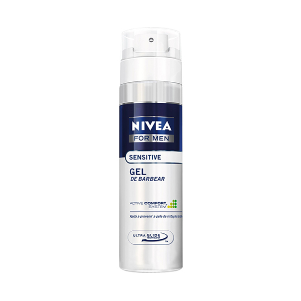 Gel De Barbear Nivea Sensitive 193g