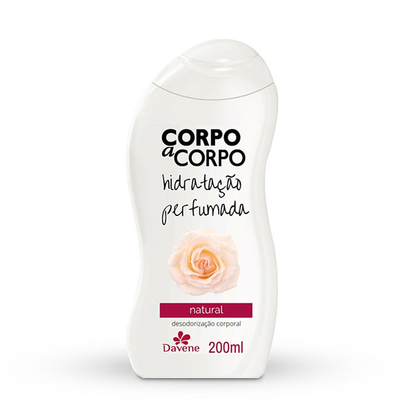 Hidratante Corpo A Corpo Natural 200ml