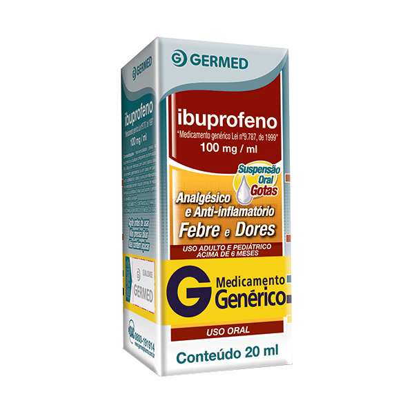 Ibuprofeno 100 Mg 20 Ml