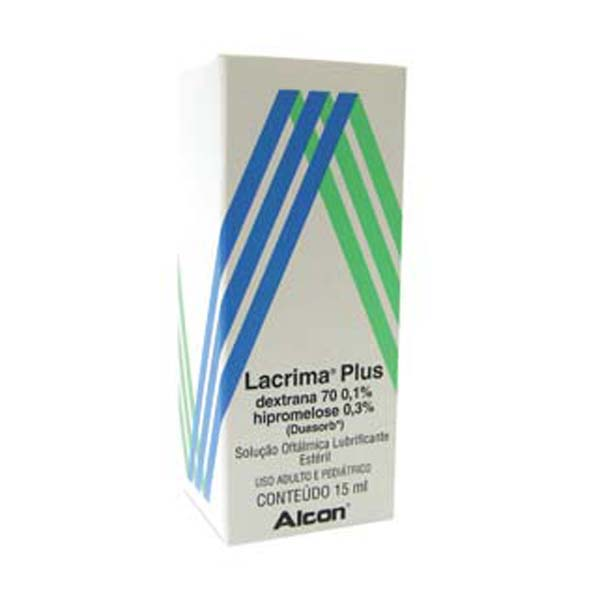 Lacrima Plus 1 + 3 Mg Gotas 15 Ml