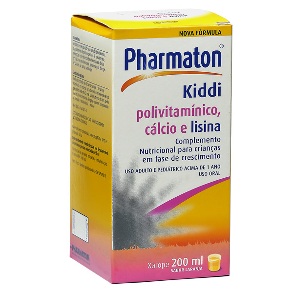 Pharmaton Kiddi Xarope 200 Ml