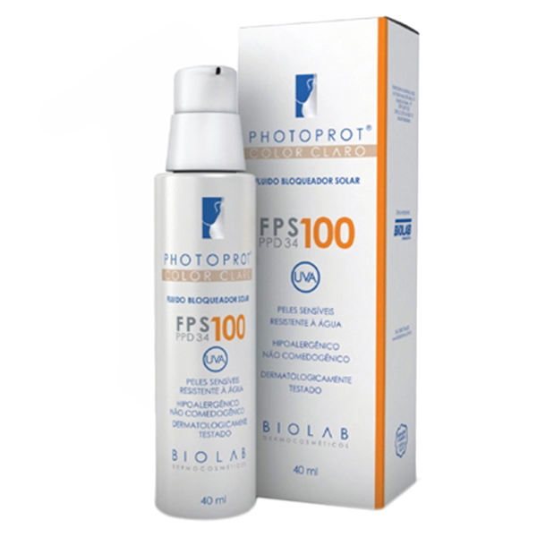 Photoprot Fps 100 Color Cl Fr C/40 Ml