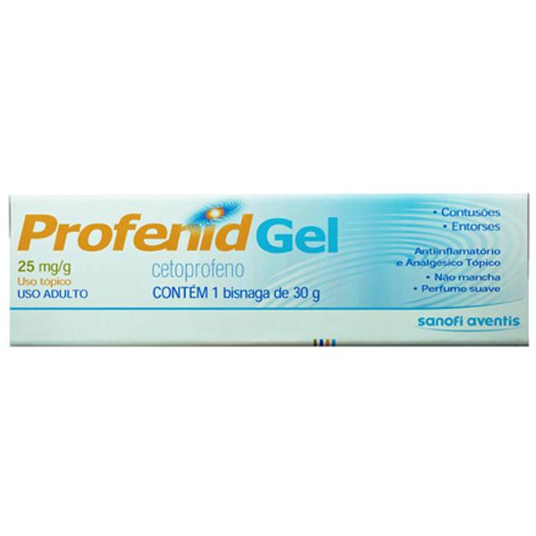 Profenid 25 Mg Gel 30 G