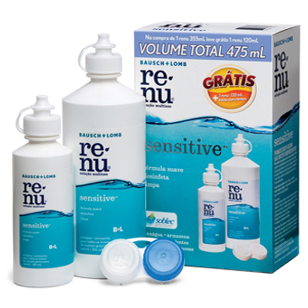 Renu Multiuso Pack 355 Ml + 120 Ml