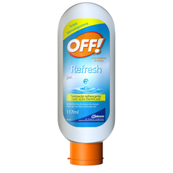 Repelente Off Refresh 117ml