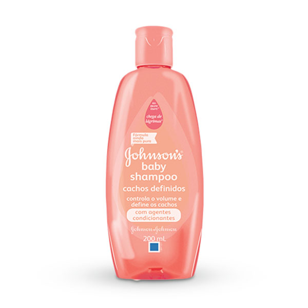 Shampoo Johnson & Johnson Baby Cacheados 200ml