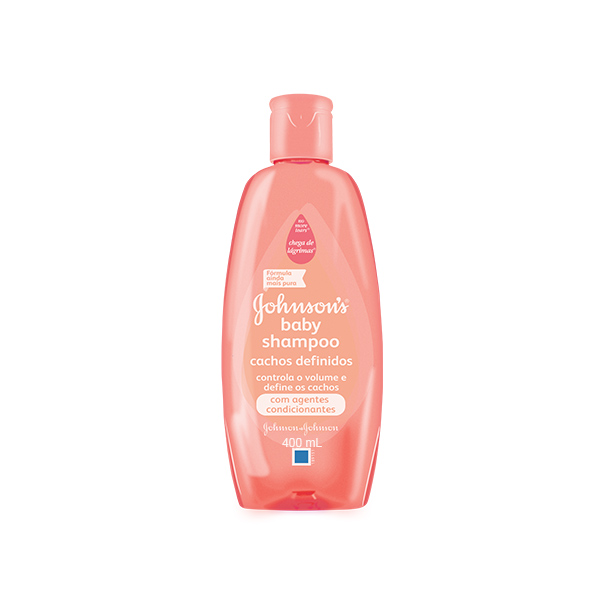 Shampoo Johnson & Johnson Baby Cacheados 400ml