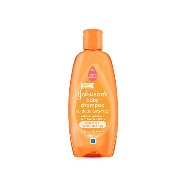 Shampoo Johnson & Johnson Baby Lisos 200ml