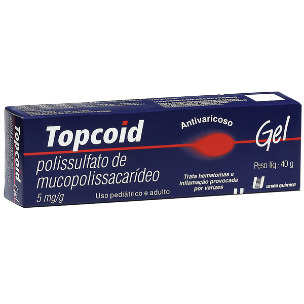 Topcoid 5 Mg Gel 40 G