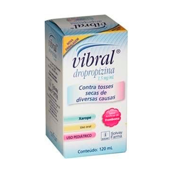 Vibral 1,5 Mg Pediátrico 120 Ml