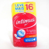 Absorvente Intimus Gel Normal S / Ab Suave 16 Unidades