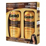 Kit Niely Gold Shampoo + Condicionador Chocolate