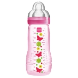 Mamadeira Mam Fashion Bottle Rosa 330ml