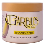 Máscara Capilar Garbus Hair Banana E Mel 450ml