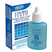 Colirio Teuto 0,15 + 0,3 Mg Gotas 20 Ml