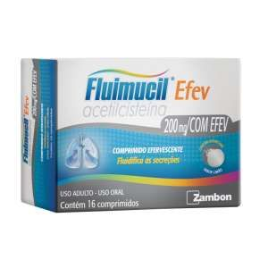 Fluimucil 600 Mg Efervescentes 16 Cprs