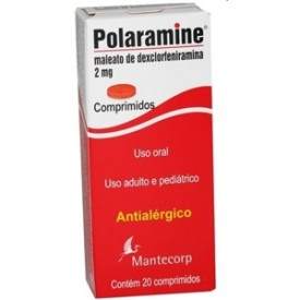 Polaramine 2 Mg 20 Cprs