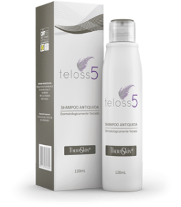 Teloss 5  Shampoo Antiqueda 120ml